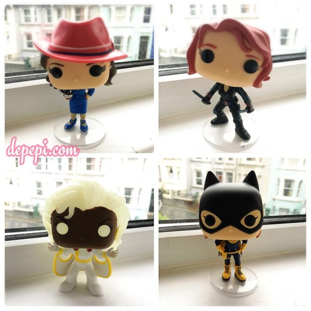 agent carter, black widow, storm, batgirl, funko, funko pop, funkofunatic, depepi, depepi.com
