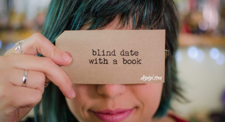 blind date with a book, unboxing, books, bookish, depepi, depepi.com