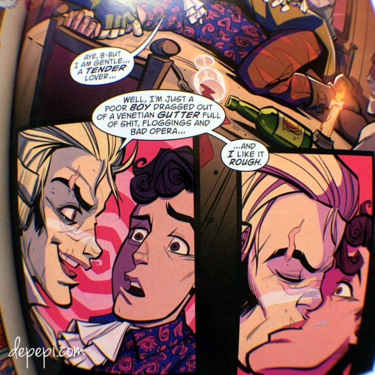 vertigo comics, vertigo, new romancer, comics, comics thorsday, thorsday, depepi, depepi.com