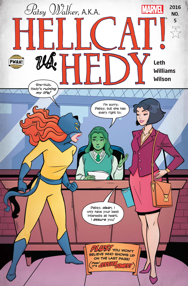 comics, thorsday, thorsday, marvel, marvel comics, hellcat, patsy walker, depepi, depepi.com, review