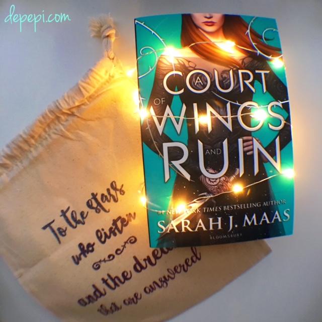 acowar, sarah j maas, a court of wings and ruin, giveaway, depepi, depepi.com, bookish