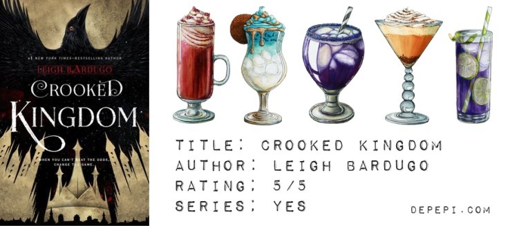 crooked kingdom, six of crows, leigh bardugo, bookish, bookish reviews, reviews, book reviews, depepi, depepi.com