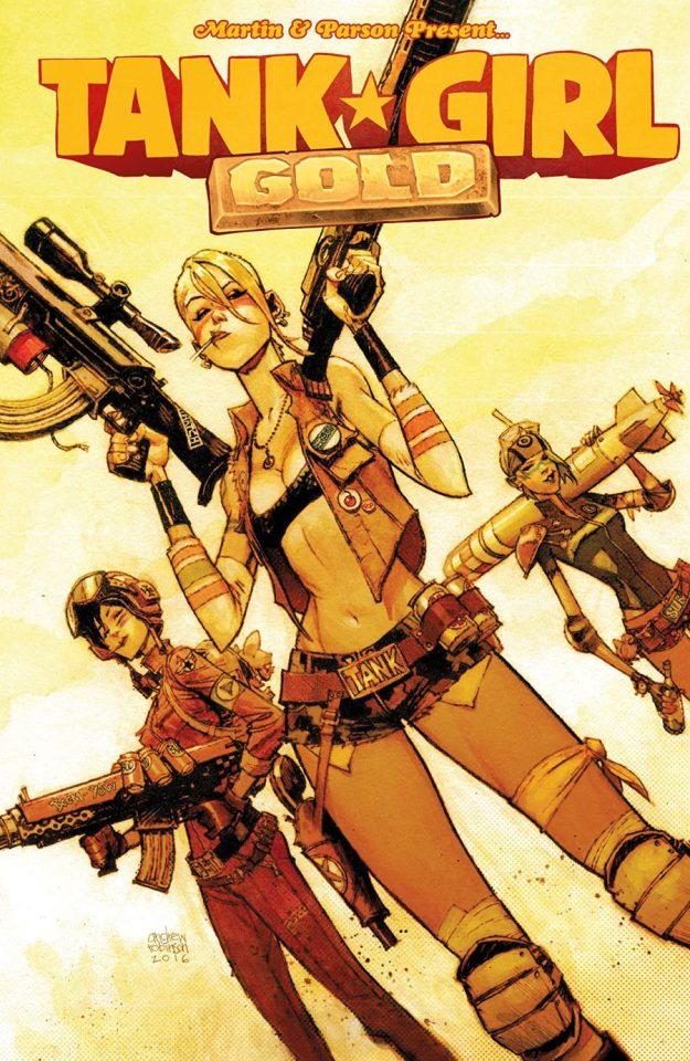 tank girl, tank girl gold, comics, depepi, depepi.com
