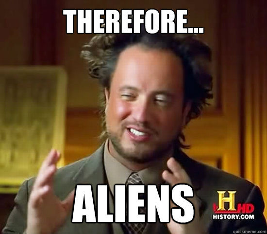 history channel, therefore aliens, ancient aliens, depepi.com, geek anthropology, anthropology