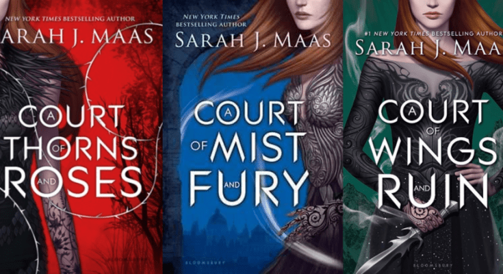 Image result for acotar series covers