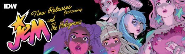 comics, new comics, pull list, comi books, jem and the holograms, depepi, depepi.com