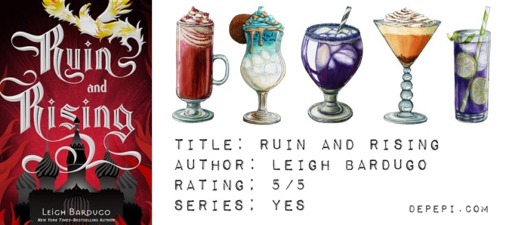 grisha trilogy, shadow and bone, siege and storm, ruin and raising, leigh bardugo, bookish, depepi, depepi.com