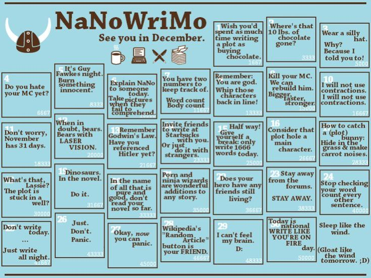 nanowrimo, national november writing month, depepi, depepi.com