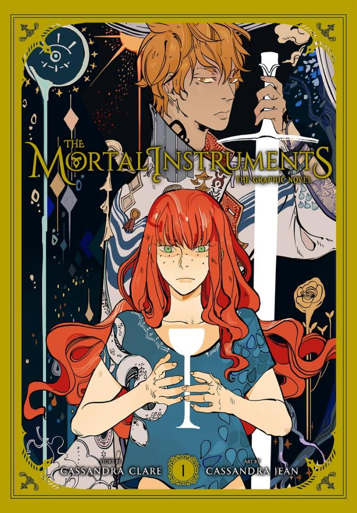 shadowhunters, the mortal instruments, cassandra clare, cassandra jean, depepi, depepi.com, graphic novel, comic book, review