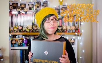 wootbox, unboxing, wootbox unboxing, wootbox old school, geek life, geek box, depepi, depepi.com