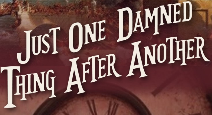 Just One Damned Thing After Another, bookish, reviews, review, books, bookish, depepi, depepi.com