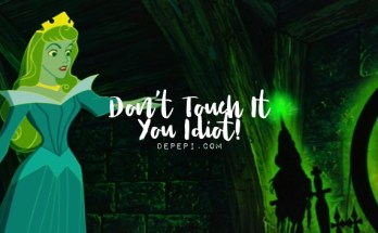 disney, aurora, don't touch it you idiot, tropes, depepi, depepi.com
