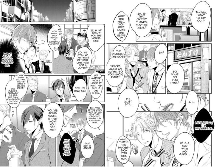 omegaverse, kurui naku no wa boku no ban, 狂い鳴くのは僕の番, yaoi, yaoi manga, manga, depepi, depepi.com, review