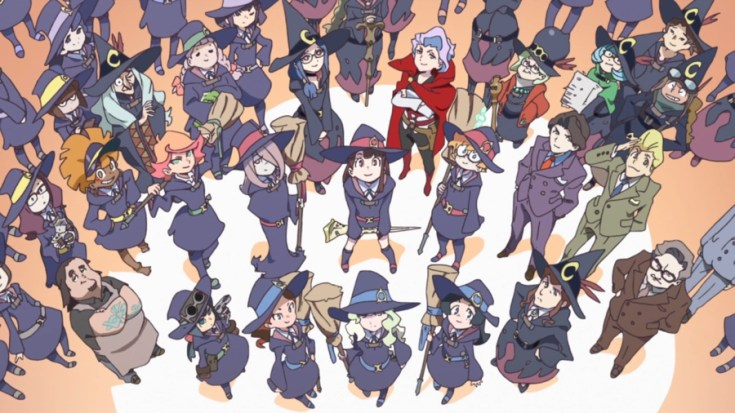 little witch academia, anime, netflix, harry potter, anime series, netflix anime, depepi, depepi.com