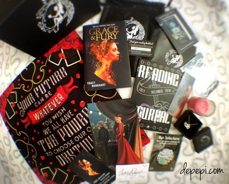 fairy loot, the fairyloot, fairyloot, rebels in ballgowns, unboxing, bookish, amreading, amreadingfantasy, depepi, depepi.com
