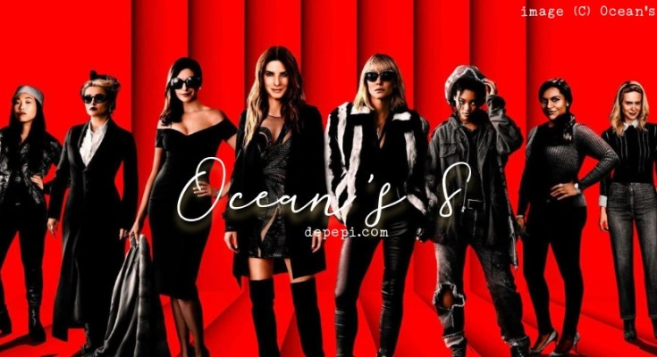 ocean's 8, ocean's eight, oceans 8, fashionista, movie, reviews, DePepi, DePepi.com, cate blanchett