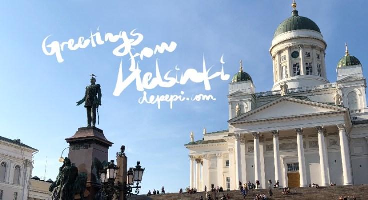 Greetings, helsinki, HEL, finland, relaxing, amwritingfantasy, writing, vacations, north, vikings, depepi, depepi.com