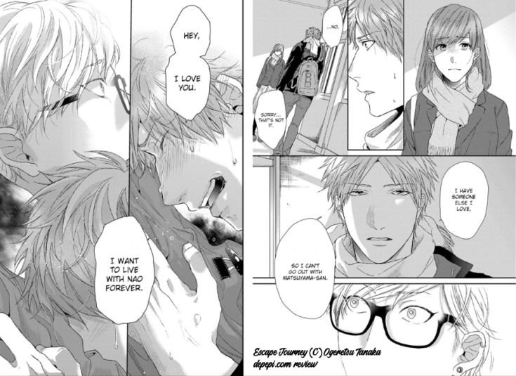 escape journey, ogeretsu tanaka, yaoi, yaoi manga, manga, BL, depepi, depepi.com