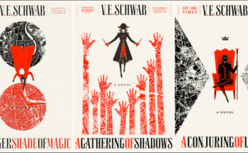 V. E. Schwab, A Darker Shade of Magic, book review, dePepi, depepi.com