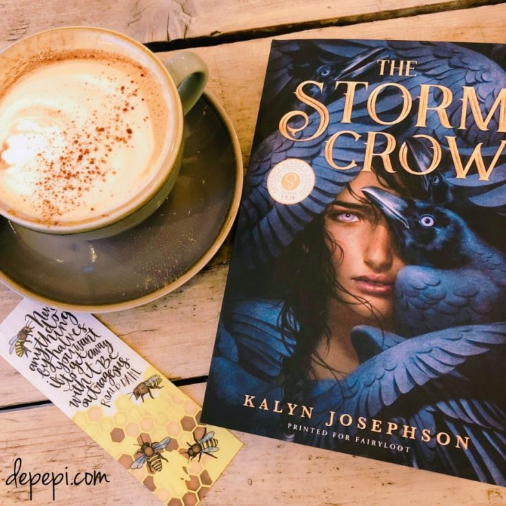 the storm crow, Kalyn Josephson, review, books, book review, depepi, depepi.com