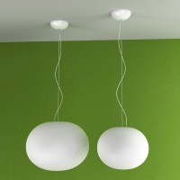Flos Glo Ball S2 Suspension Lamp   Deplain.com