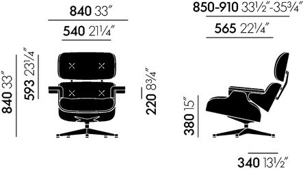 vitra lounge chair hire covers cape town eames deplain com xclassic classic