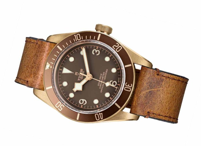 The latest Heritage Black Bay from Tudor..now the Bronze cased version, with chocolate dial, and brown/gold accented bezel.