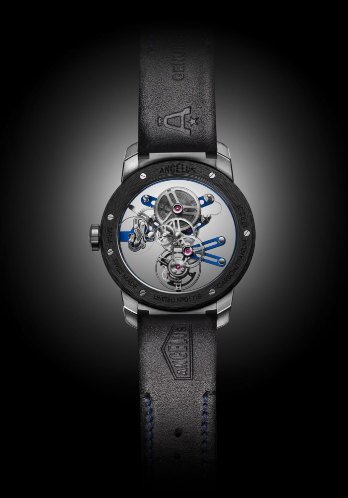 The U20 Ultra-Skeleton Tourbillon, from the back.