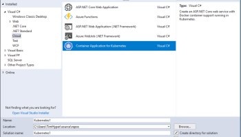 Publish  NET Core Container Image to ACR from VS 2017 - Deploy