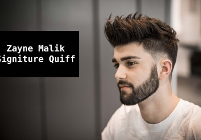 Zayn Malik Signature Hair Tutoria