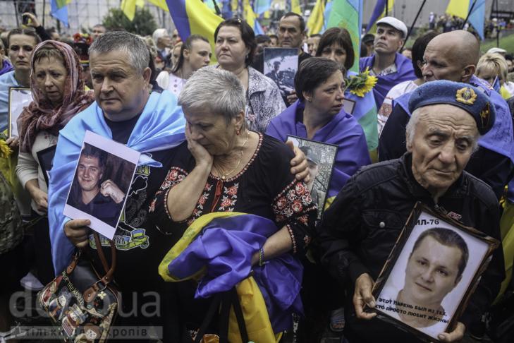 Інший парад: Як центром Києва йшли матері загиблих в АТО військових - фото 29