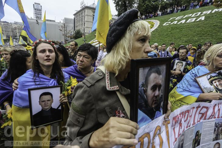 Інший парад: Як центром Києва йшли матері загиблих в АТО військових - фото 30