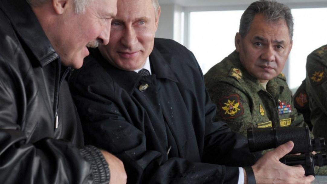 Лукашенко й Путін