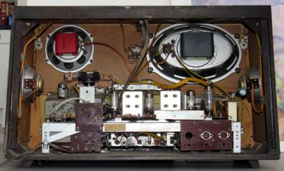 Radio Nordmende Fidelio U30 - chassis/telaio