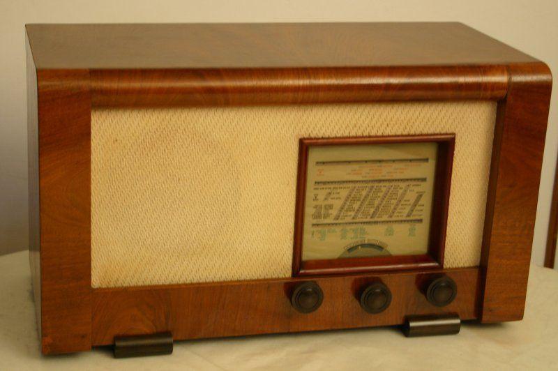 Radio a valvole belga
