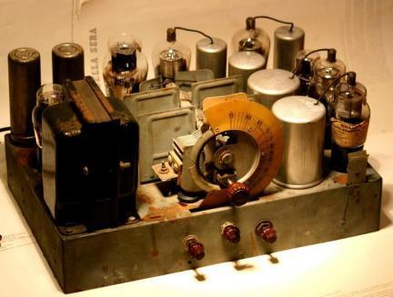 Radio Philco 70 - chassis