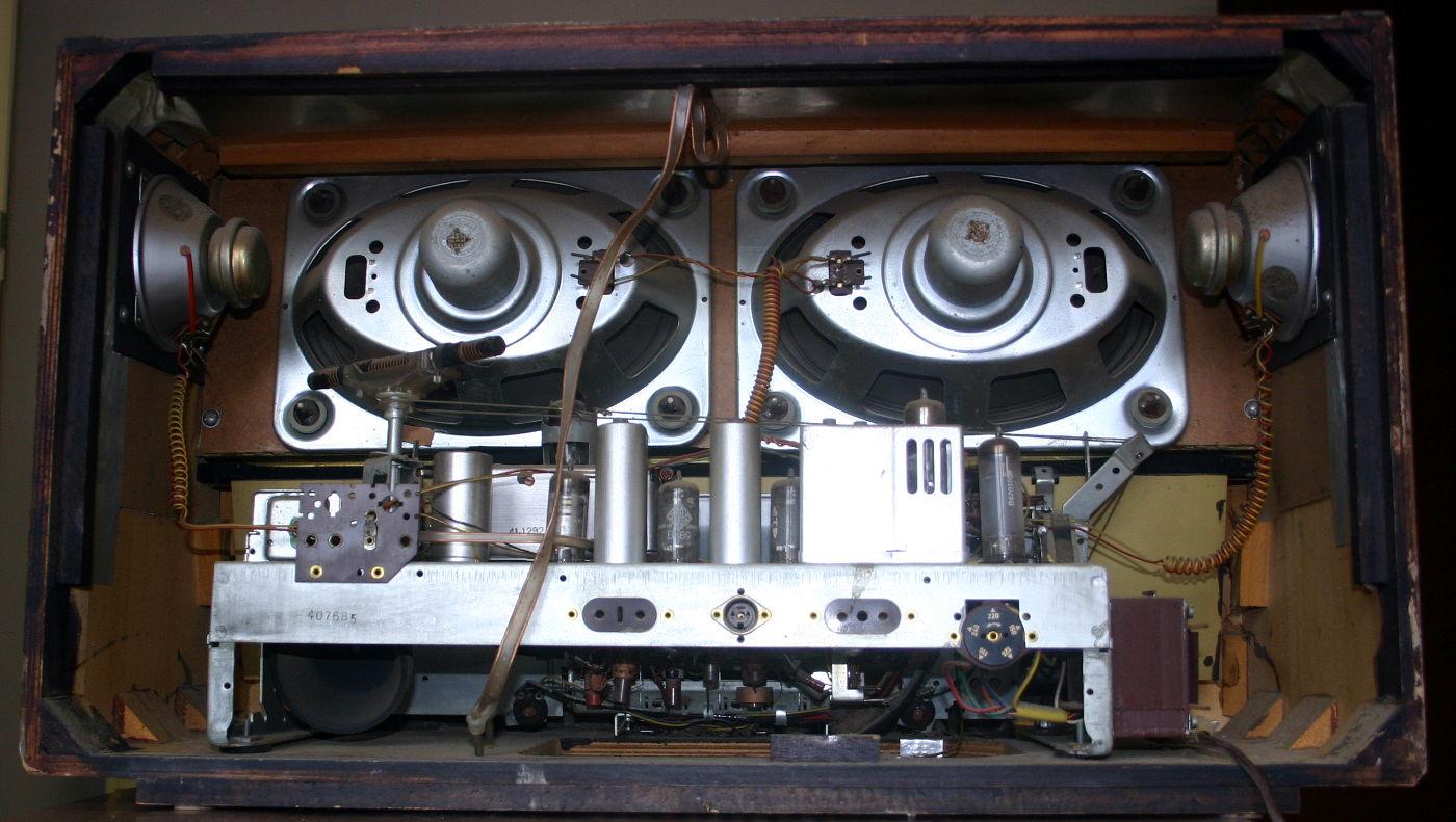 Telefunken Concerto 9 Chassis