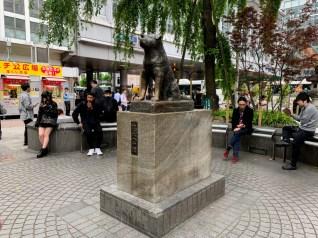 Tokyo_Shibuya_Hachiko tribute_Rafaela Yamaki
