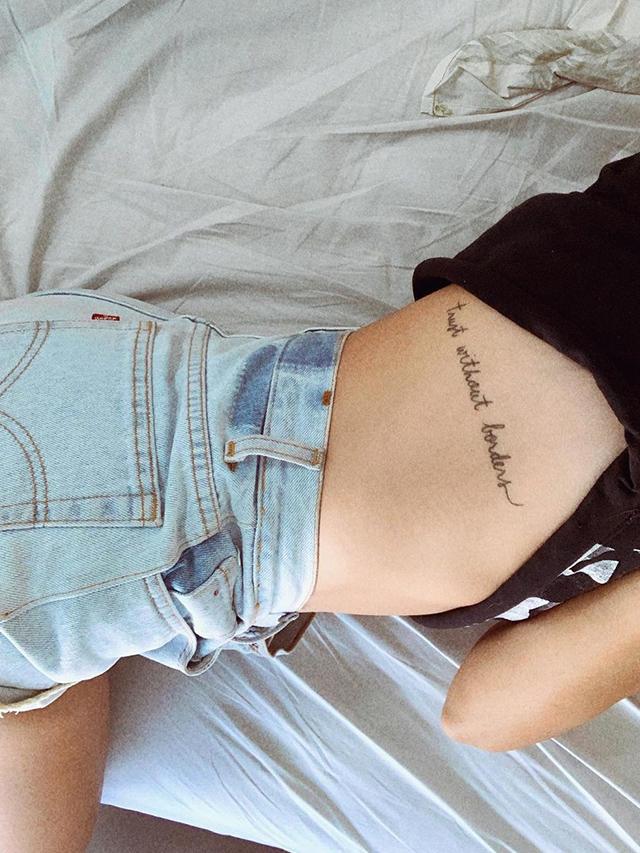 Como definir a minha tatuagem?