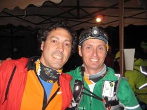 Rafa con su gran amigo Jose Luis