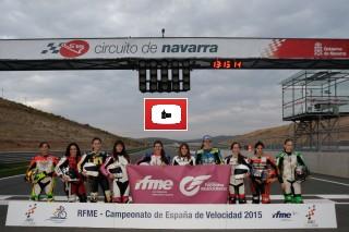 Participantes Copa de España Femenina de Velocidad 2015_Foto I.Terrón