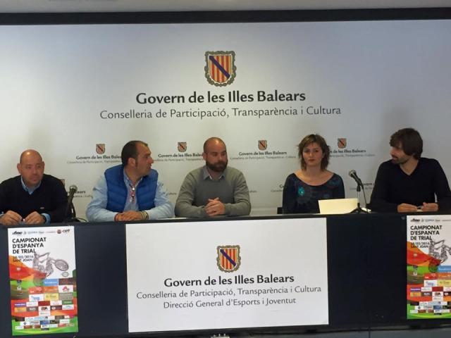 Presentación de la prueba del Campeonato de España de Trial