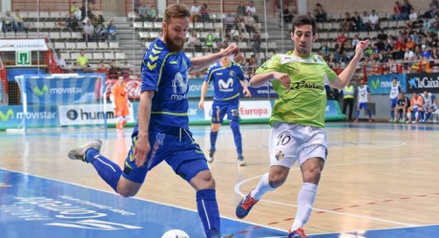 Pola, de Movistar Inter, y Joselito, de Palma Futsal