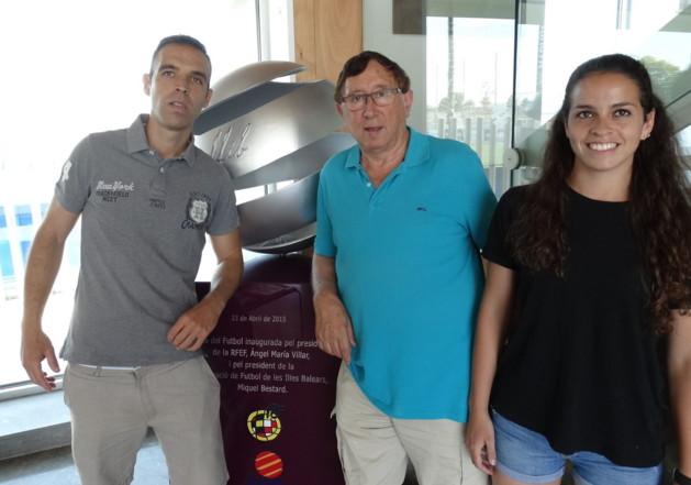 Guillermo Cuadra Fernández , Bartolome Riera Morro y Amy Peñalver Pearce