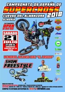 Cartel RFME SXCuevas 2018