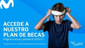 Becas Rafa Nadal Academy by Movistar