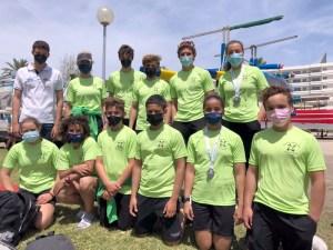 Equipo CMM en las Finales Escolares de piragüismo - Alcudia 15.05.2021