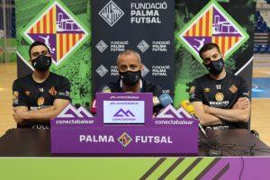Tomaz, Vadillo y Fabio en la rueda de prensa