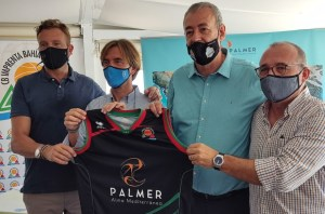Palmer Alma Mediterránea sponsor del Imprenta Bahía San Agustín
