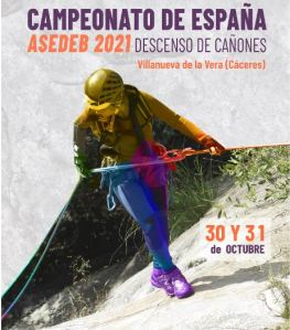 Campeonato de España ASEDEB 2021 descenso de cañones